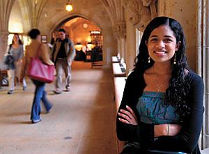 Photo of White House Advisor Maya Shankar c. 2013