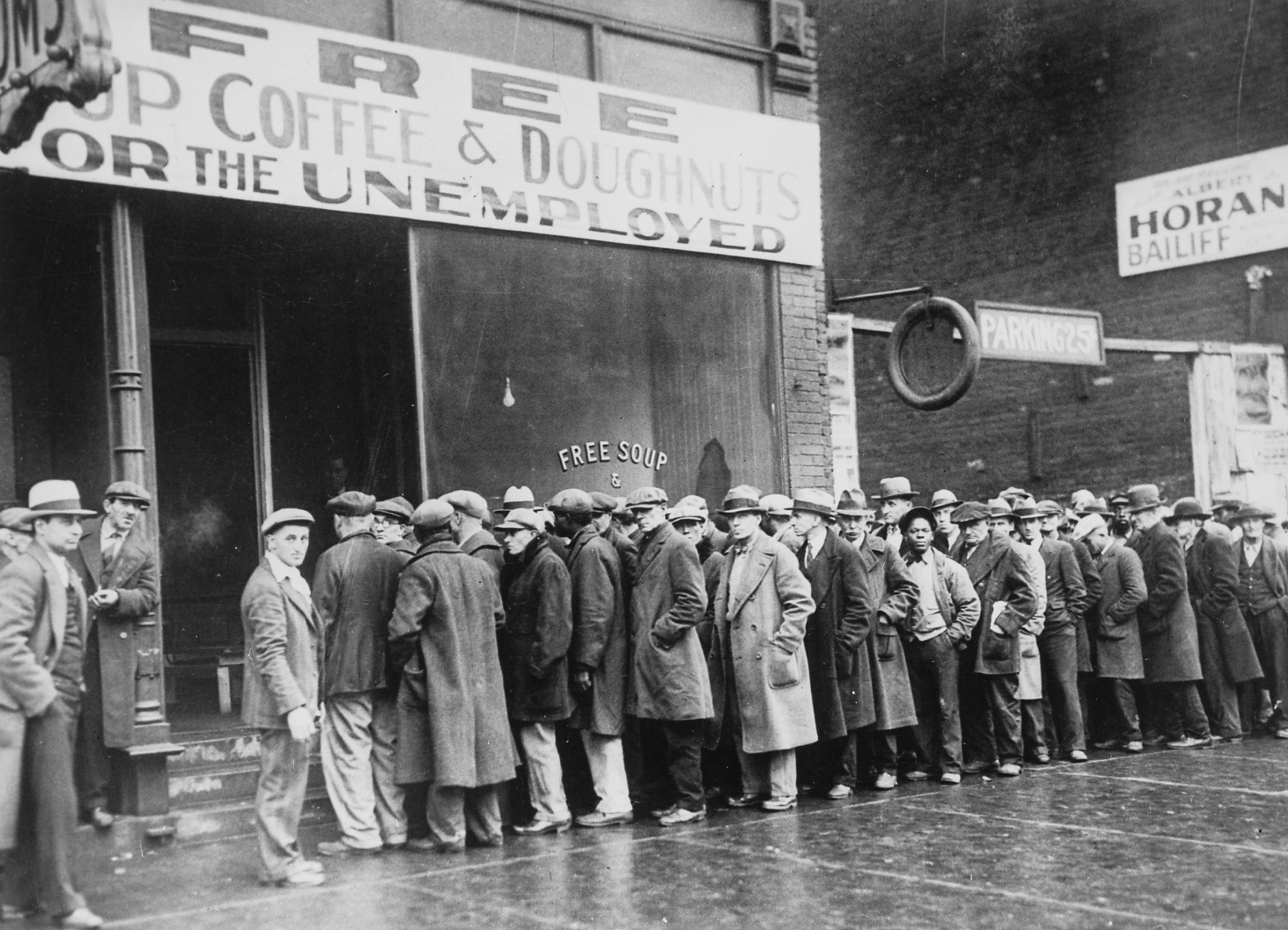 Unemployment in Chicago ~ 1930's
