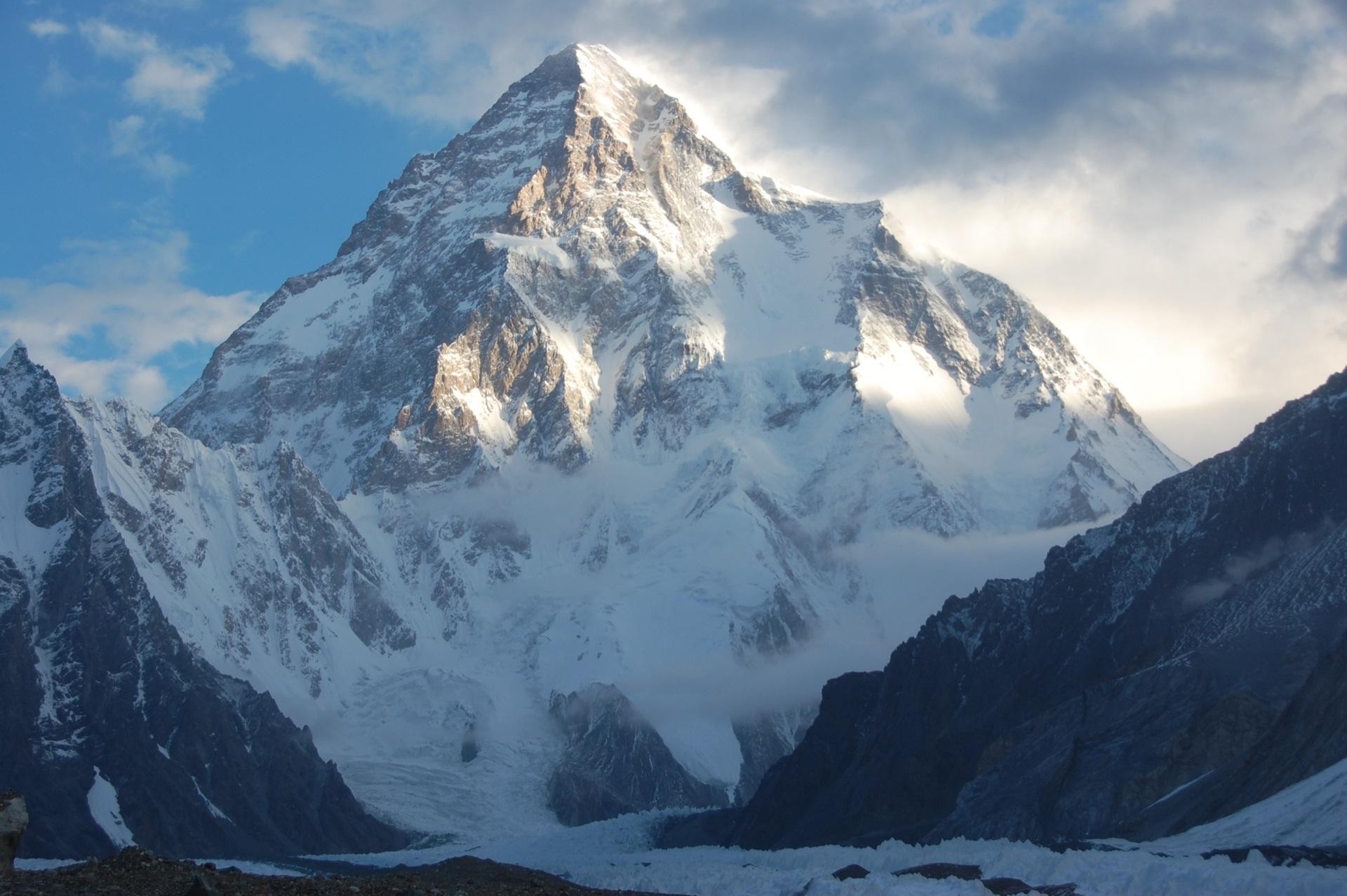 Photo: K2, Mount Godwin Austen, Chogori, Savage Mountain (Wikipedia) - A mountain of data