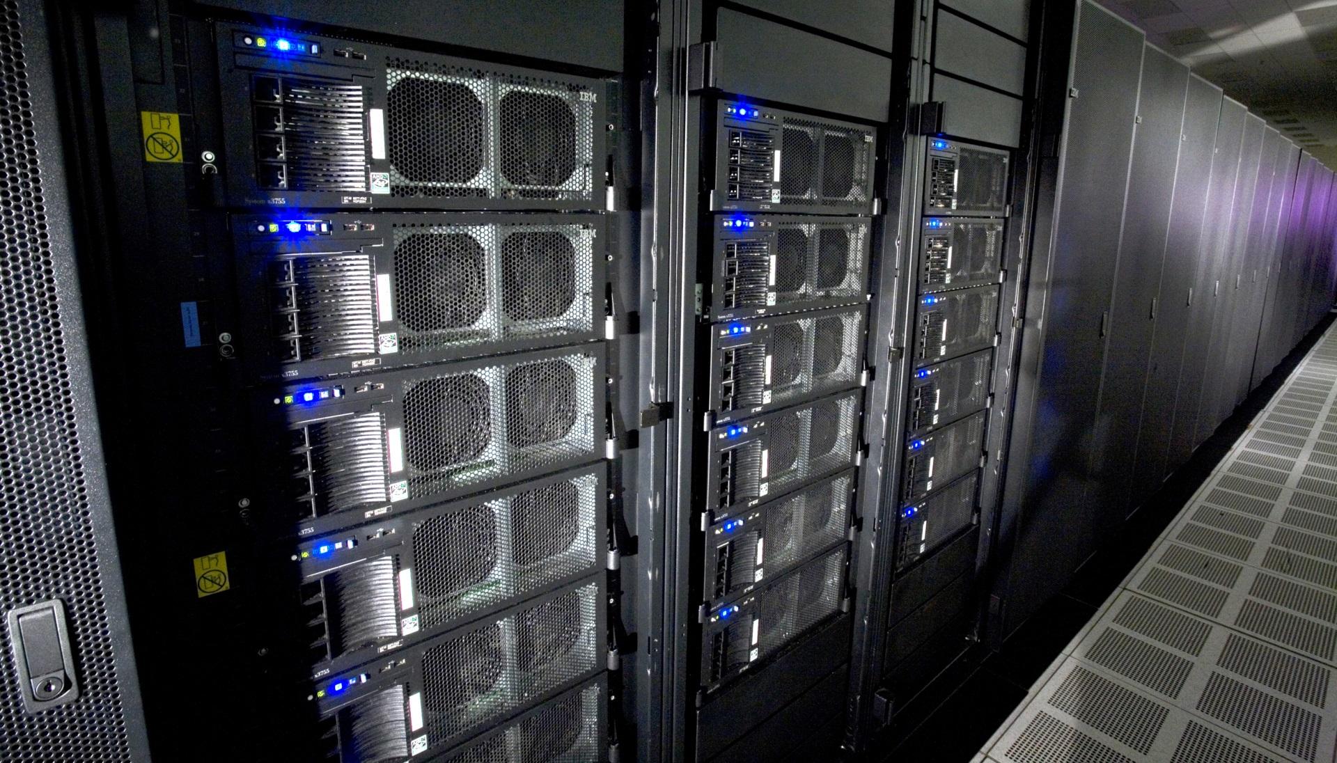 Roadrunner supercomputer via Wikipedia