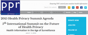 Patient Privacy Forum 2015