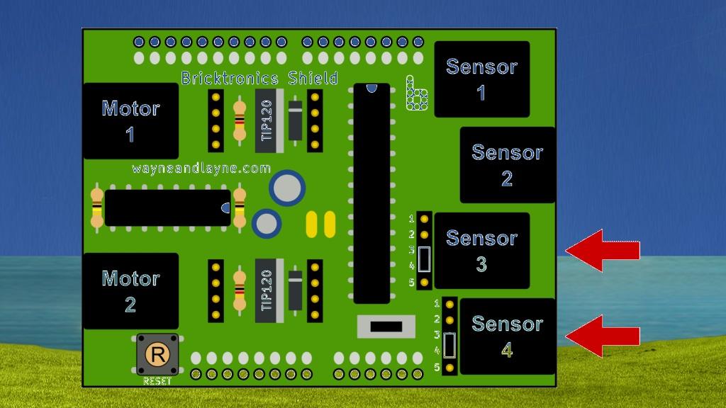 Bricktronics Sensors via Wayne and Layne